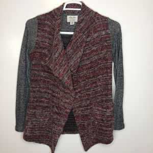 Lucky Brand Lucky Lotus cardigan open front
